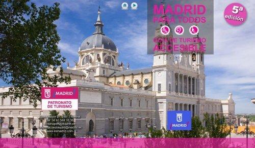 Recursos accesibles en Madrid. PDF - Spain