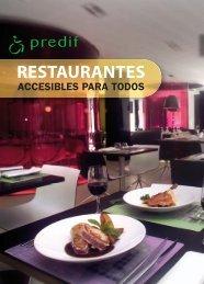 Restaurantes accesibles. PDF - Spain