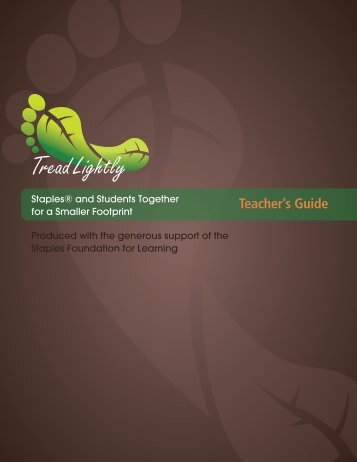 Guide Teacher's Guide - TakingITGlobal