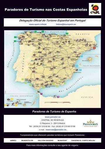 Paradores de Turismo nas Costas Espanholas - Spain