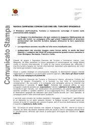 Comunicato Stam pa - Spain