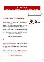 Newsletter Avril-Mai 2012 - Spain