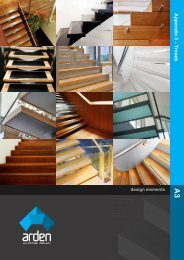 A3 Technical Data Sheet - Arden Architectural Stairs
