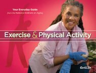 Exercise & Physical Activity: Your Everyday Guide from the National ...