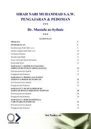 SIRAH NABI MUHAMMAD S.A.W. PENGAJARAN & PEDOMAN *** Dr. Mustafa as-Syibaie ***