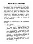On Being Hard Femme - The Queer Zine Archive Project - Page 6