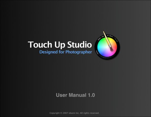 An Overview of Touch Up Studio