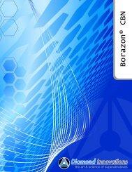 Borazon® CBN - Diamond Innovations