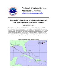 Impacts from Tropical Cyclone Isaac - National Weather Service ...