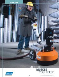 Catalog - Floor Care - Norton Construction Products