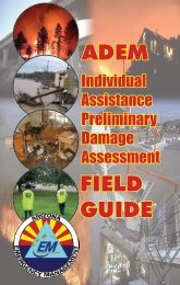 ADEM IA PDA Field Guide - Arizona Division of Emergency ...
