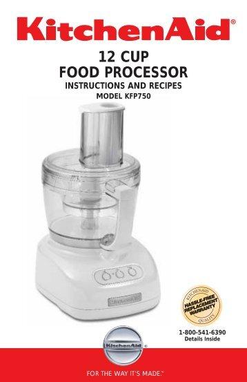9 Cup Food Processor Kitchenaid