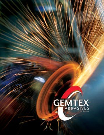 our commitment - Gemtex Abrasives