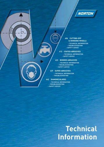 Technical Information - Norton Abrasives