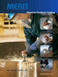 Abrasive Products Catalog - JW Donchin CO.