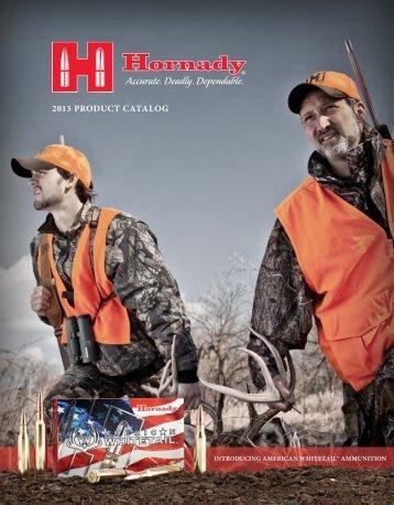 2013 PRODUCT CATALOG - Hornady.com