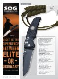Only BlADE® hAs thE insiDE scOOp On fActOry knivEs sEt tO DEBut ... - Page 3