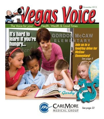 It's hard to learn if you're hungry... - The Vegas Voice