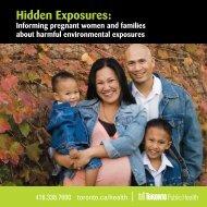 Hidden Exposures: Informing pregnant women and - City of Toronto