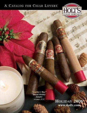 Holiday Catalog 06 - Holt's Cigar Company