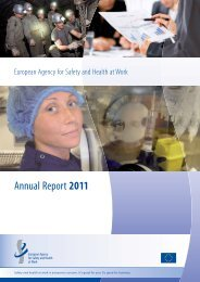 Annual Report 2011 - European Agency for Safety and Health at ...