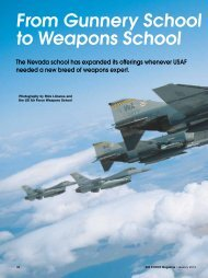 From Gunnery School to Weapons School