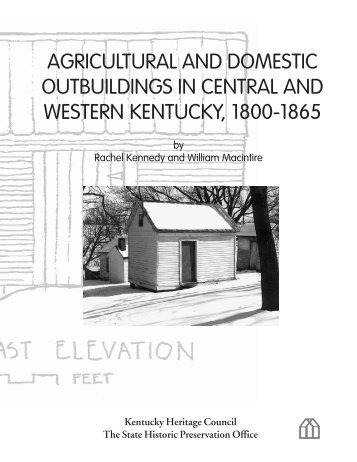 Agricultural and Domestic Outbuildings in Central and Western