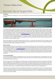 Barnett Ten-X Target Rifle