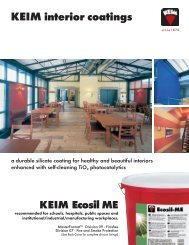 Ecosil ME Brochure 2008 - Keim