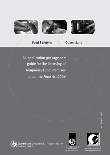 Guide to Temporary Food Premises Licensing - Queensland ...