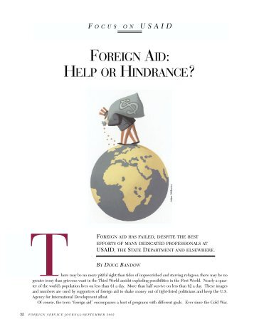 a study on foreign aid on