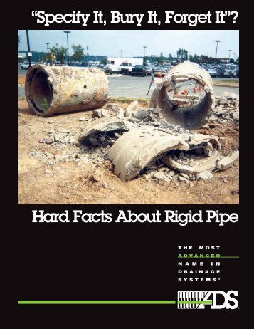 Hard Facts About Rigid Pipe - Advanced Drainage Systems