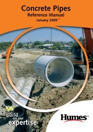 Concrete pipe manual - Humes