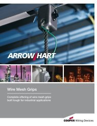 Wire Mesh Grips - Cooper Industries
