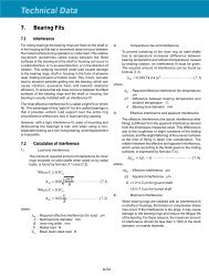 NTN Technical Information Series PDF's - NTN Bearing