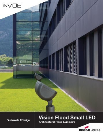Vision Flood Small LED - Cooper Industries