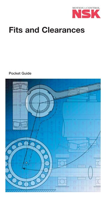 Pocket Fits and Clearances Guide - NSK Europe
