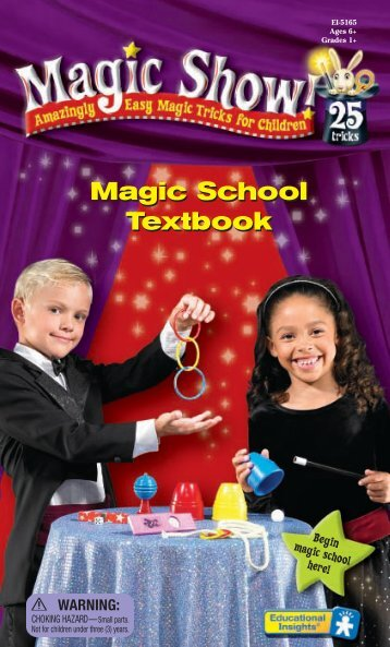 Magic School Textbook - Educational Insights