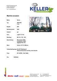 Gremo.ex Ochsner D neu pdf - Keller Forstmaschinen AG