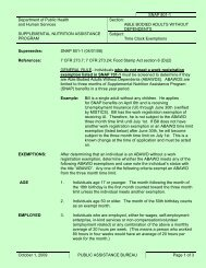 SNAP 801-1 Able Bodied Adults Without Dependents - Time Clock ...
