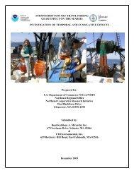 Smooth Bottom Net Trawl Fishing Gear Effect on - New England ...