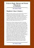 Tricks in Magic, Illusions and Mental Phenomena - Umclidet - Page 6