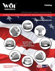 Catalog - woihouston - Welding Outlets, Inc.
