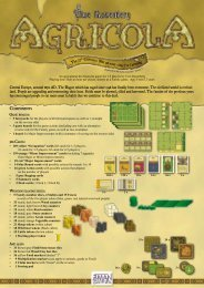 Agricola Rules - Z-Man Games