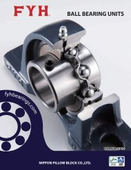 Ball Bearing Units (contents)