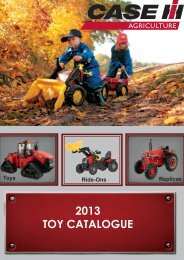 Download our Collectables, Toys and Ride-On Catalogue - Case IH