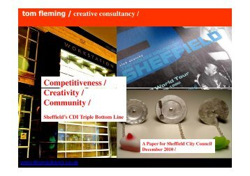 download report   pdf format - Tom Fleming Creative Consultancy