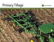 Primary Tillage - SDI-AG