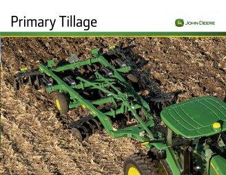 Primary Tillage - SDI-AG