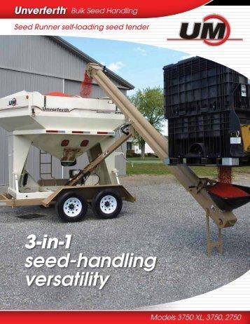3-in-1 seed-handling versatility - Umequip.com
